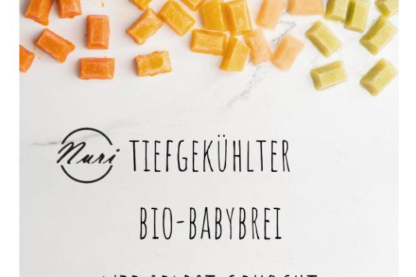 NURI for Babies , tiefgekühlte BIO Baby Breie …