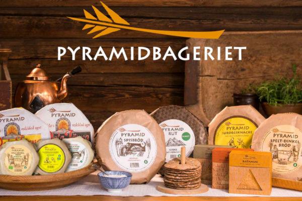 PYRAMID , original schwedisches Knäckebröd …..