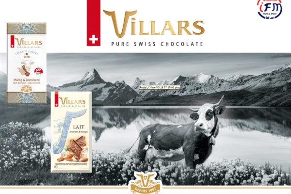 VILLARS , Maitre Chocolatier aus der Schweiz