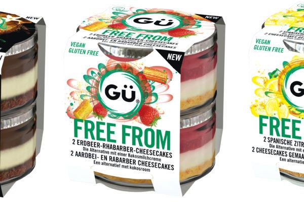 NEU :  GÜ free from …. , die bekannten Cheesecakes aus England in vegan , gluten und laktosefrei ….