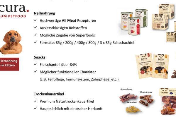 Neu : PETCURA , Premium Petfood …..