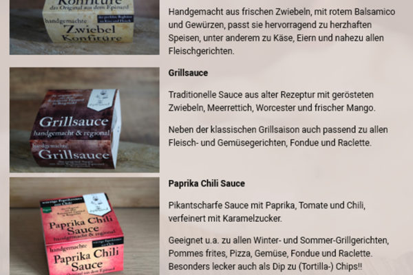 Handgemachte Ailloli, Steaksaucen , Remoulade und Kräuterbutter aus dem Restaurant EPINARD , Borgwedel an der Schlei…