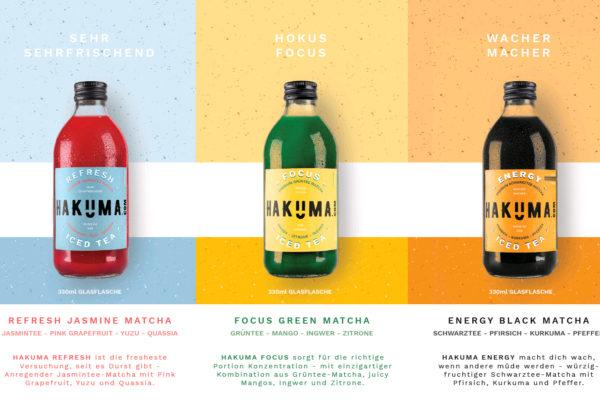 FUNCTIONAL PREMIUM ICED TEA : Hakuma