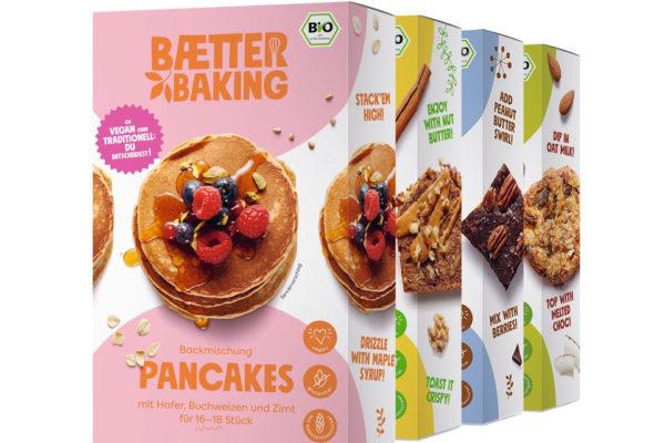 BAETTER Baking , Glutenfrei Bio-Backmischungen auf Basis natürlicher Zutaten