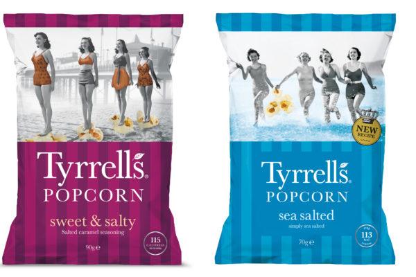 Neu von Tyrrel`s : Popcorn …..
