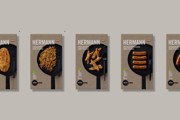 Hermann Fleischlos , fleischlose Produkte auf Basis von Pilzen in BIO-Qualität …..