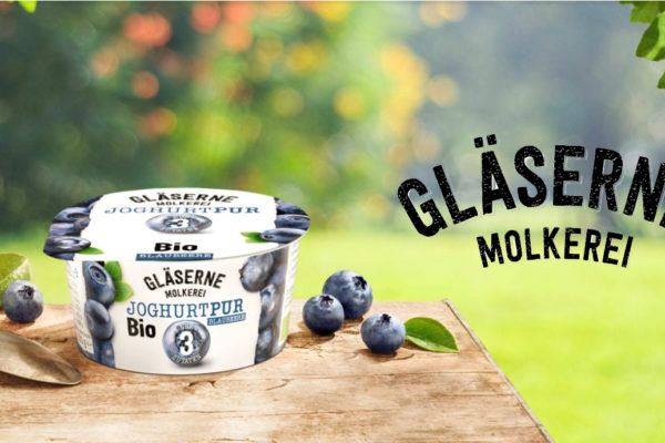 BIO Milch & Joghurt aus der GLÄSERNEN MOLKEREI , Mecklenburg