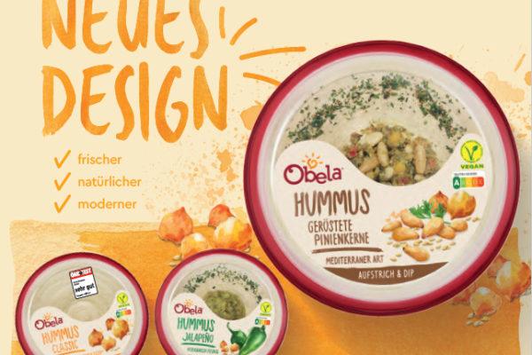 OBELA , ( Sabra in den USA ) ist die weltweite Hummus – Marke No. 1 …..